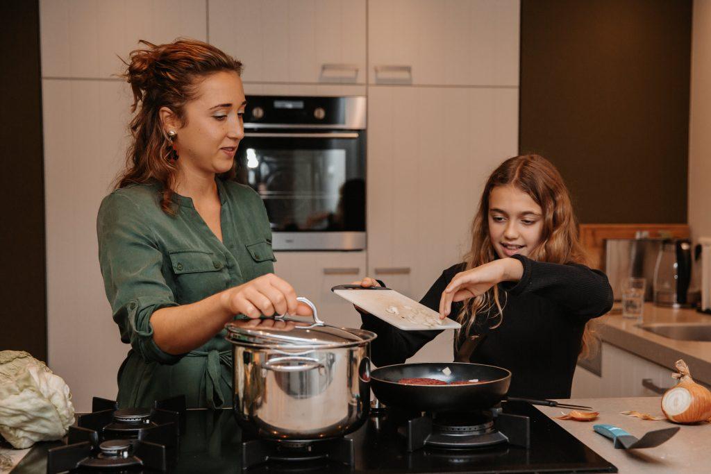 koken met kinderen hoe zorg je voor jezelf als moeder