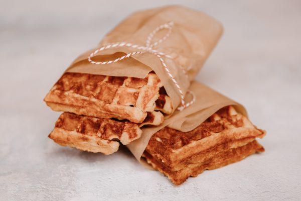 gezond ontbijt wafels eiwitrijk ontbijt